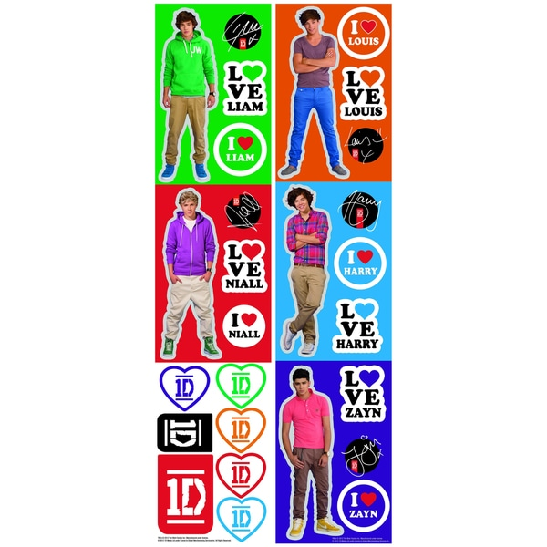 One Direction Peel & Stick Wall Decal