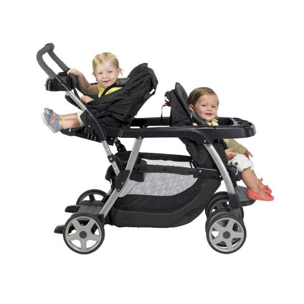 Graco Ready2Grow LX Stand and Ride Stroller in Flare 768d0c18 b77e 42d9 9123 3d8ec550000f 600