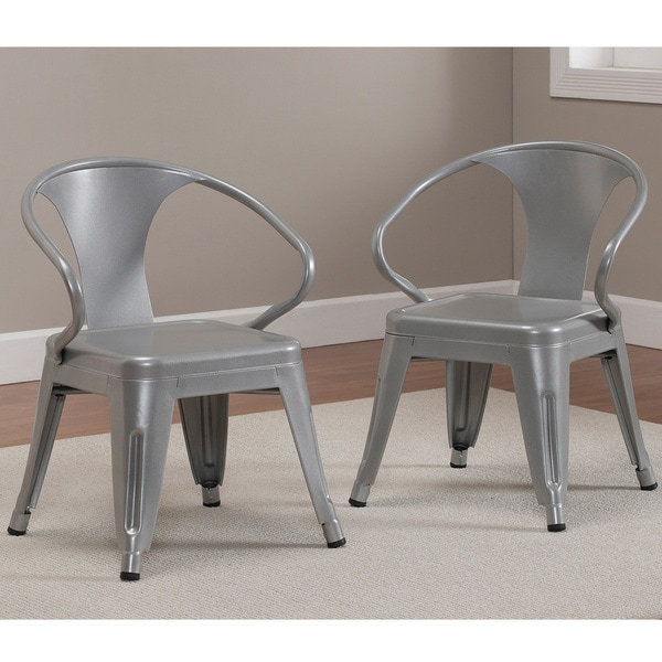 shop kids tabouret stacking chairs set of 2 free shipping today