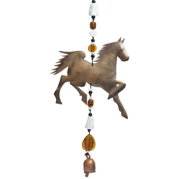 Handmade Prancing Pony Wind Chime (India)