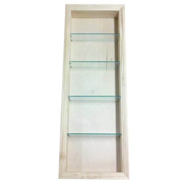 Recessed Shelf In Bathroom Wall: Shop 42-inch Recessed In The Wall Newberry Niche