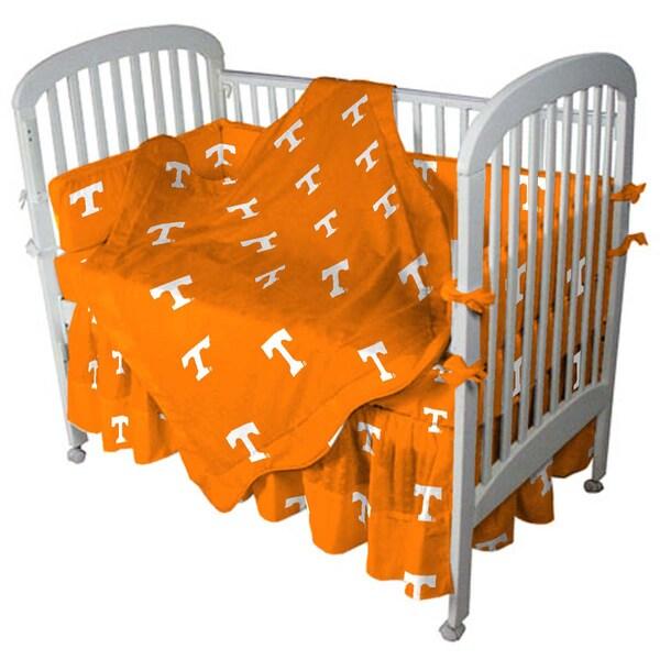 NCAA Tennesse Vols 5-piece Crib Bedding Set
