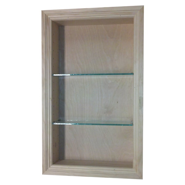 Shop 24 Inch Recessed In The Wall Newberry Niche Free Shipping Today 7538612