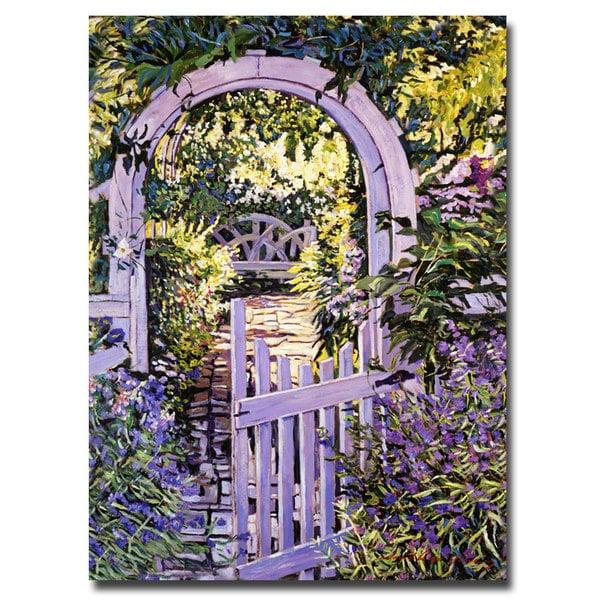 David Lloyd Glover 'Country Garden Gate' Canvas Art