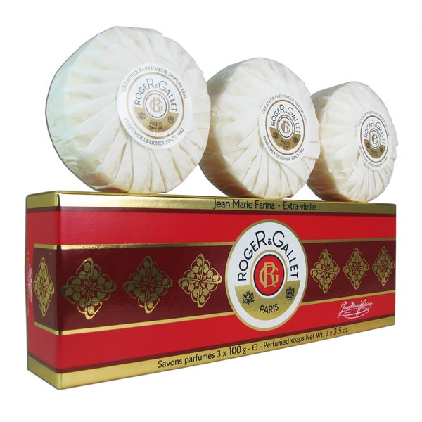 Roger & Gallet 'Jean Marie Farina' Unisex 3.5-ounce Soaps (Box of 3)