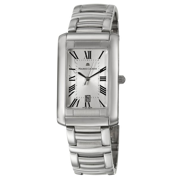 Maurice Lacroix Men's Stainless Steel 'Miros' Watch