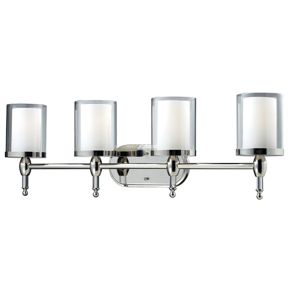 Argenta Chrome 4-light Vanity Light