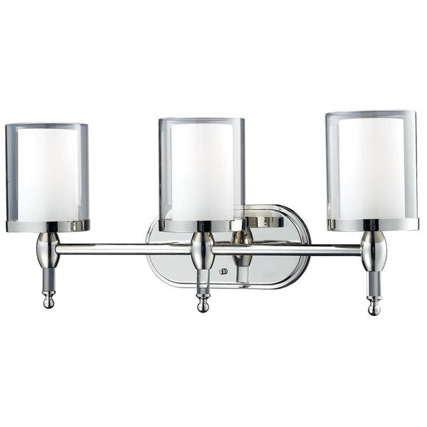Shop argenta chrome 3 light vanity light on sale free shipping argenta chrome 3 light vanity light aloadofball Gallery