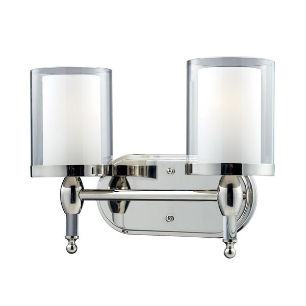 Argenta Chrome 2-light Vanity Light