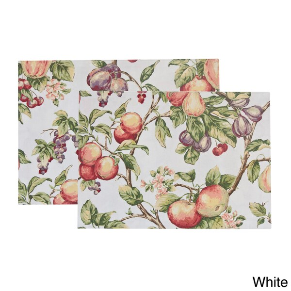 Rose Tree 'Orchard' Placemats (Set of 6)