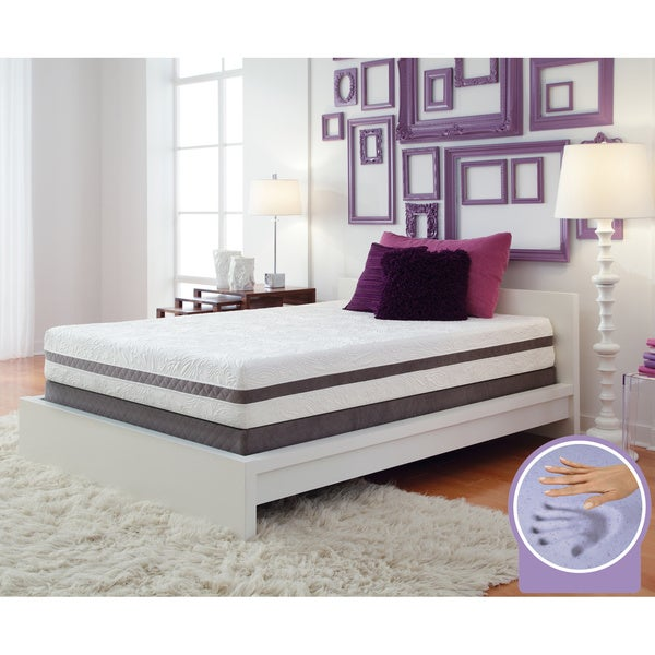 optimum by sealy gel memory foam radiance king mattress set