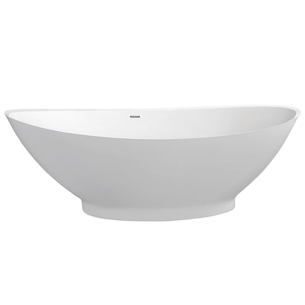 Aquatica PureScape 621M Freestanding Solid Surface Bathtub