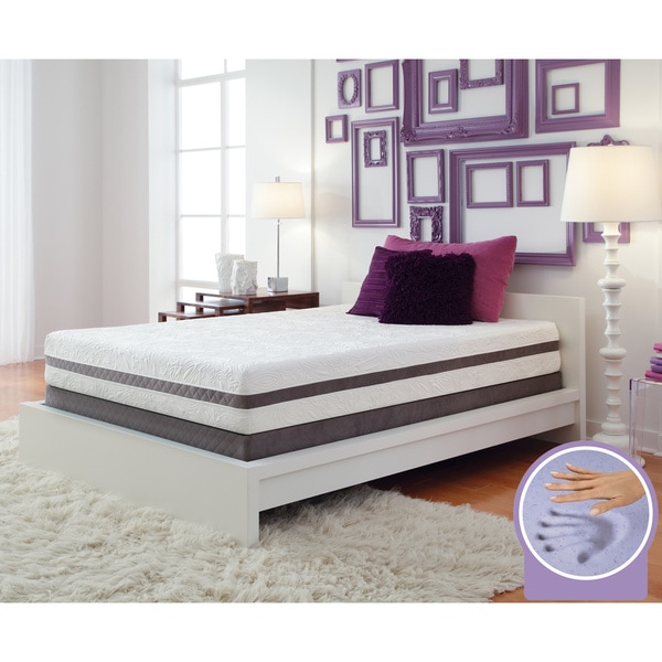 Optimum by Sealy Posturepedic Gel Memory Foam Radiance Full-size Mattress Set