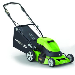 Shop Earthwise 18 Inch Cordless Self Propelled Electric Mower Free Shipping Today