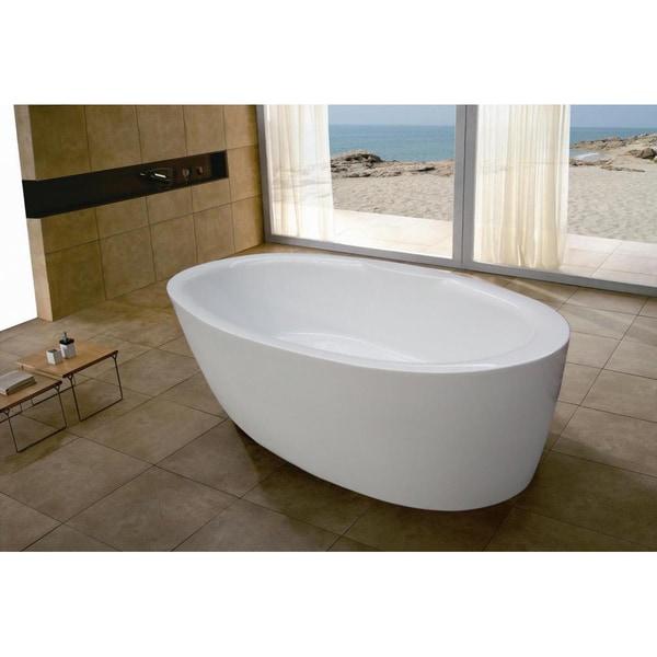 Aquatica PureScape 271 Freestanding Acrylic Bathtub
