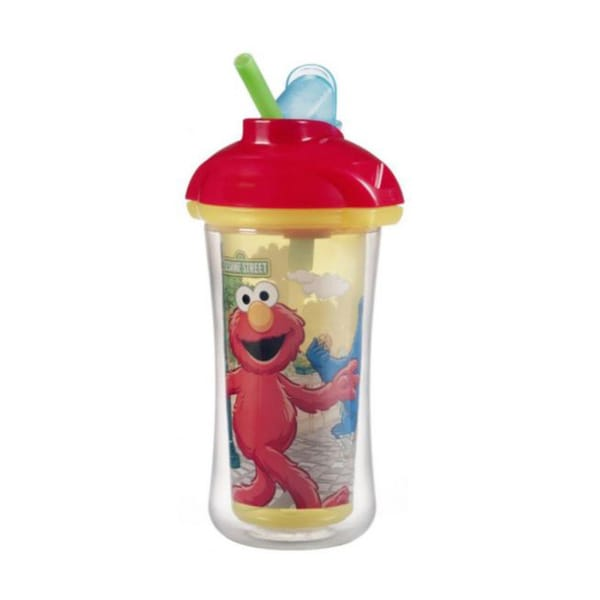Munchkin Sesame Street 9-ounce Click-lock Insulated Straw Cup