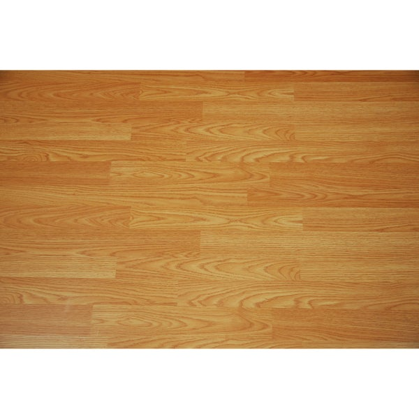 Furniture of America Lifestyle 7mm Country Oak Laminate Flooring (25.5 SF)
