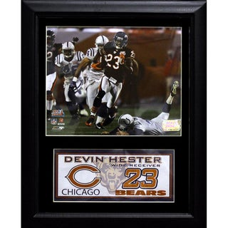 Devin Hester Chicago Bears Deluxe Stat Photo Frame (11 x 14)