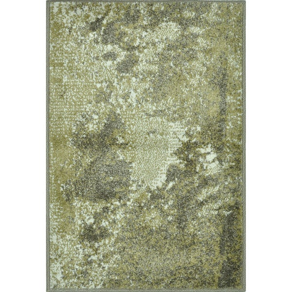 Arrakis Green/ Taupe Rug (2'0 x 3'0)