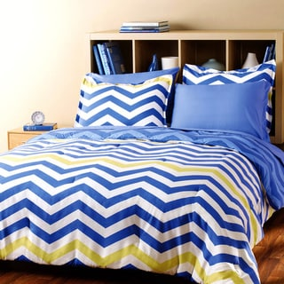 City Scene Zig Zag 7-piece Bed in a Bag with Sheet Set