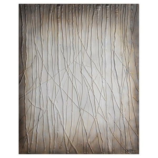 Patrick St. Germain 'Porcelain Forest' Hand Painted Canvas