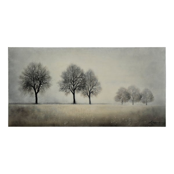 Lecavalier 'Misty Morning' Hand Painted Canvas