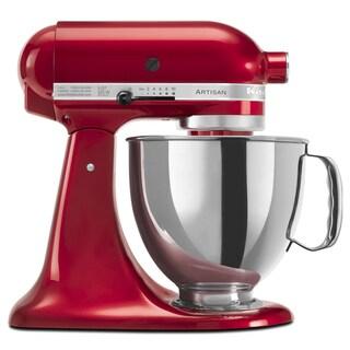 KitchenAid RRK150CA Candy Apple Red 5-quart Artisan Tilt-Head Stand Mixer (Refurbished)