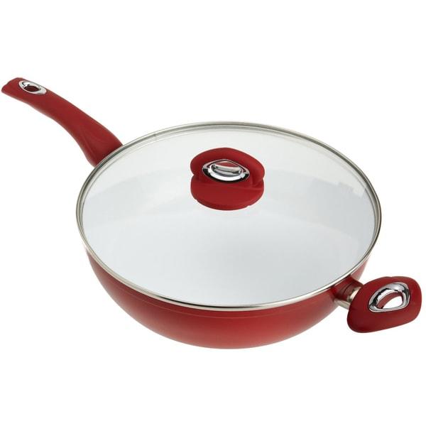 Shop Bialetti Aeternum 12 Inch Covered Deep Saute Pan