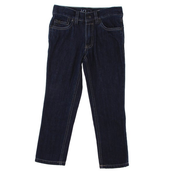 Calvin Klein Boys Dark Wash Denim Pants