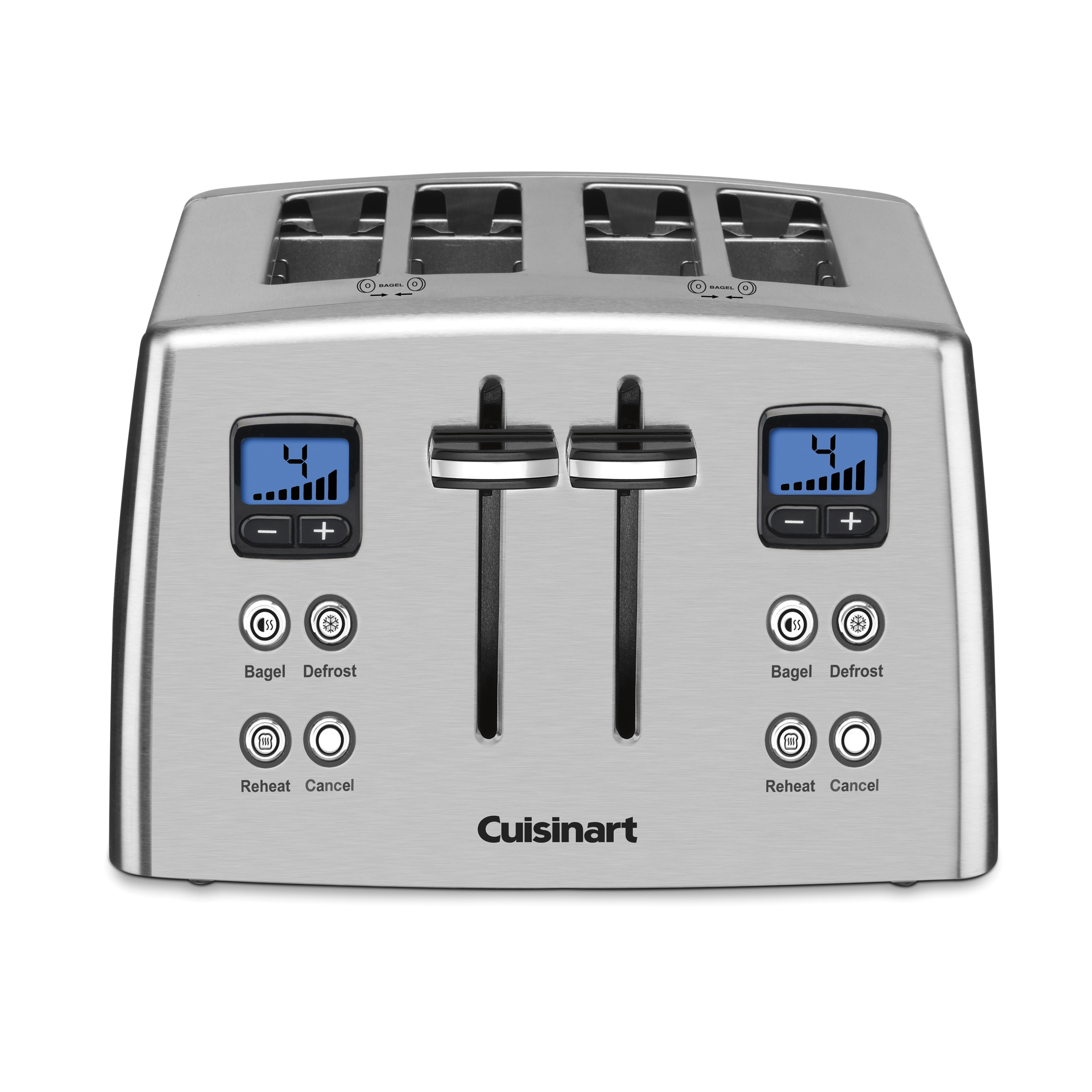 Cuisinart CPT-435 Countdown 4-Slice Stainless Steel Toast...