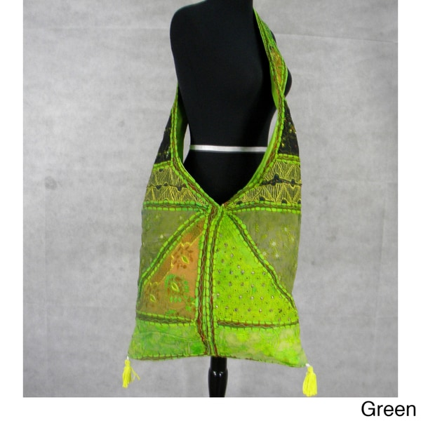 Handmade Envelope Style Cross-Body Bag (India)