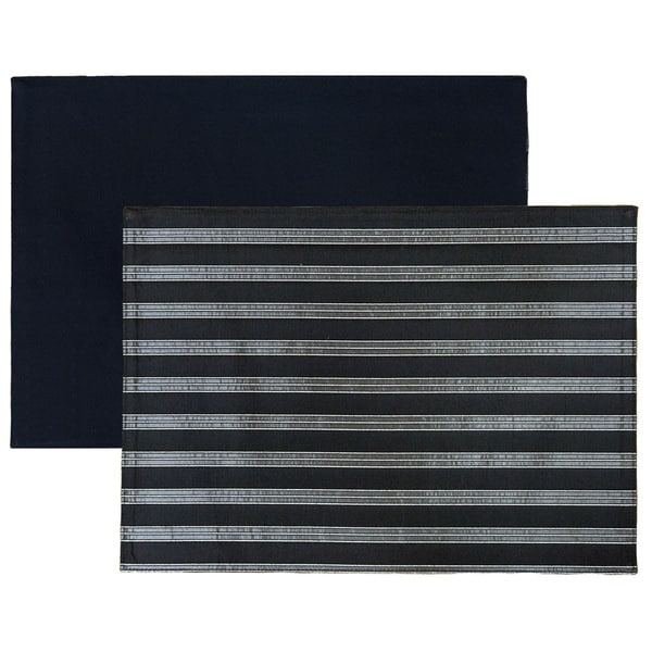 Rose Tree Lucky Stripe Placemats (Set of 6)