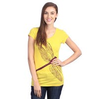Women's 'Dragonfly Mystery' Organic Cotton Shirt