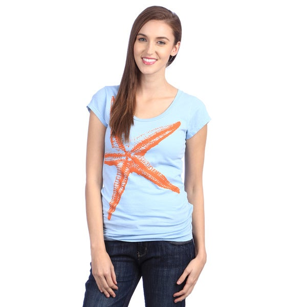 Women's 'Starfish' Organic Cotton T-Shirt