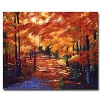David Lloyd Glover 'Magical Forest' Canvas Art - Multi