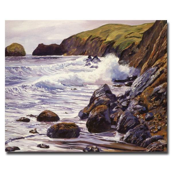 David Lloyd Glover 'Summer Sea' Canvas Art