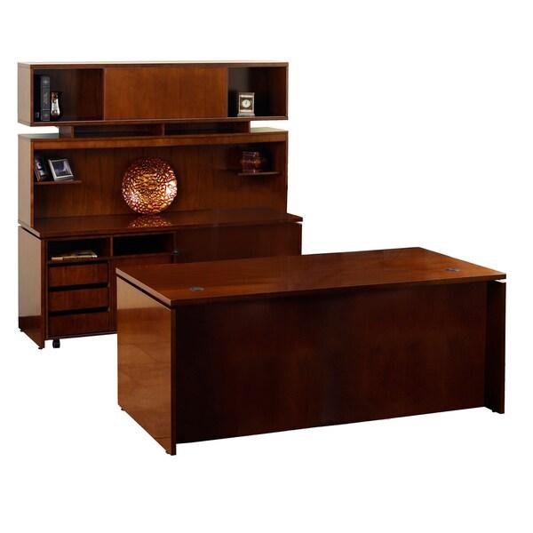 Mayline Stella Series Desk Workstation Typical #1 (72x36)