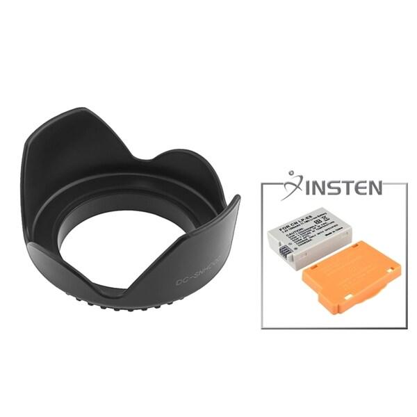 INSTEN Battery/ Lens Hood for Canon EOS 550D Rebel T2i/ LP-E8
