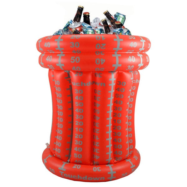 Tango Red-White Football Inflatable Beverage Cooler