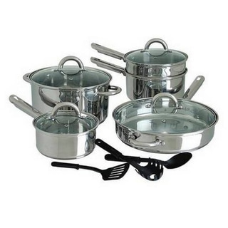 stainless steel cookware sets shop the best deals for