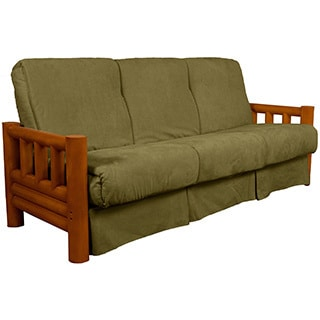 Yosemite Perfect Sit and Sleep Lodge-style Pillow Top Futon Sofa Sleeper Bed