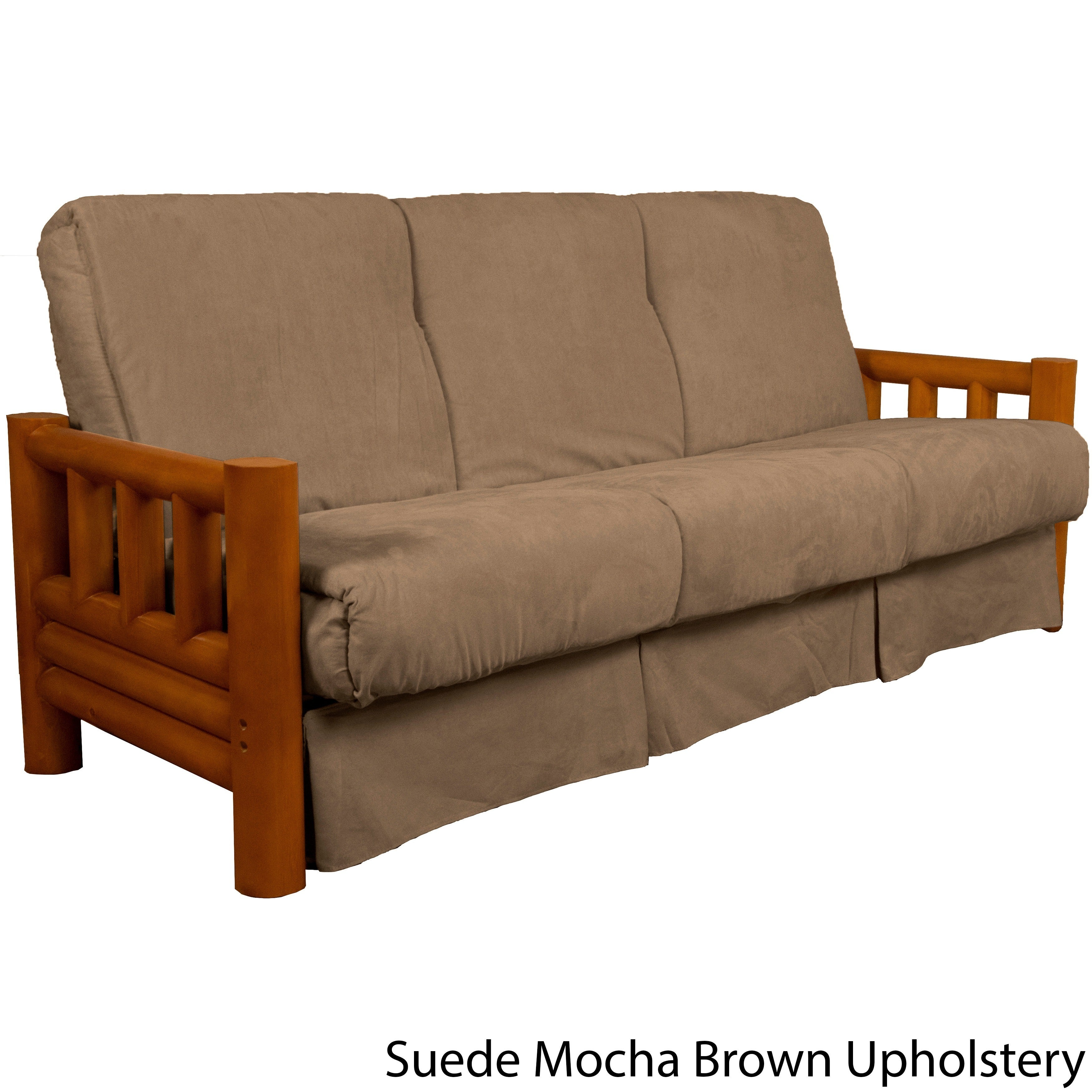 Pine Canopy Tuskegee Lodge Style Pillow Top Sofa