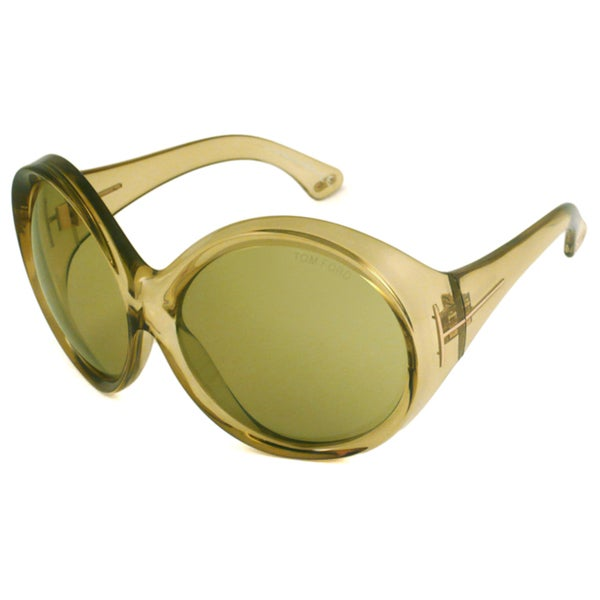 Tom Ford Women's TF0221 Ali Round Sunglasses