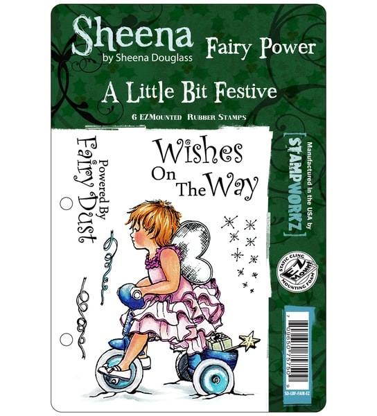 "Sheena Douglas Unmounted Stamp Set 5-1/2""X8-1/2""-Fairy Power"