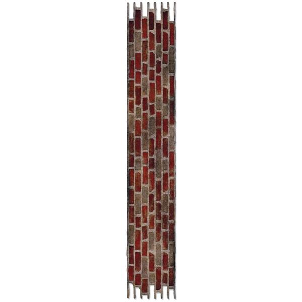 Sizzix Sizzlits Decorative Strip Die By Tim Holtz-Brick Wall