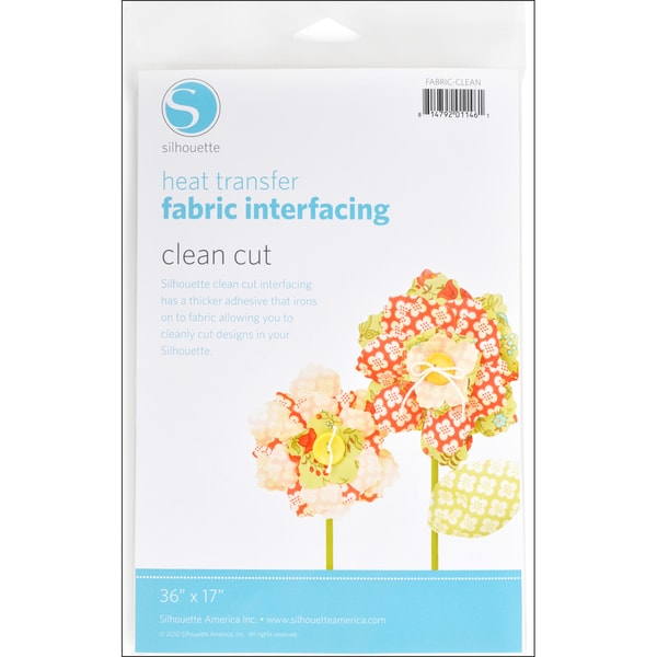 "Silhouette Clean Cut Fabric Interfacing 36""X17""-"