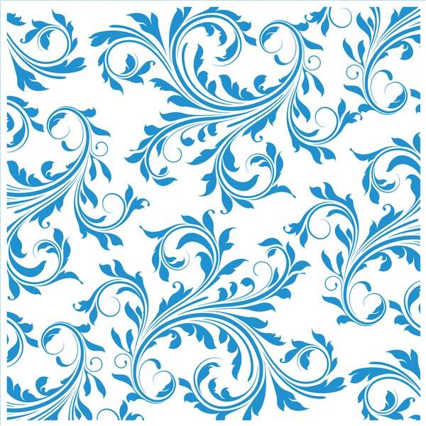"""Embossing Folder 8""""X8""""-Regency Swirls"""
