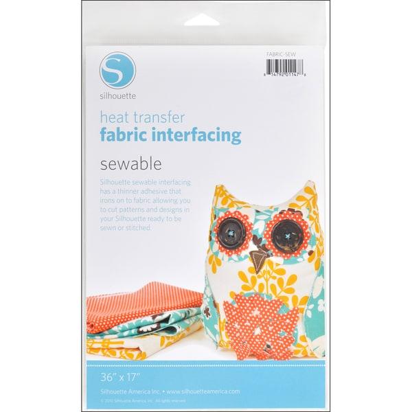 "Silhouette Sewable Fabric Interfacing 36""X17""-"