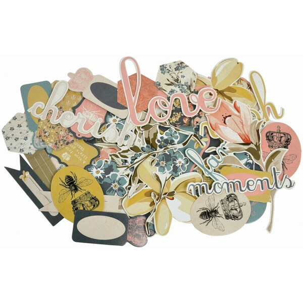 Forget-Me-Not Collectables Cardstock Die-Cuts-