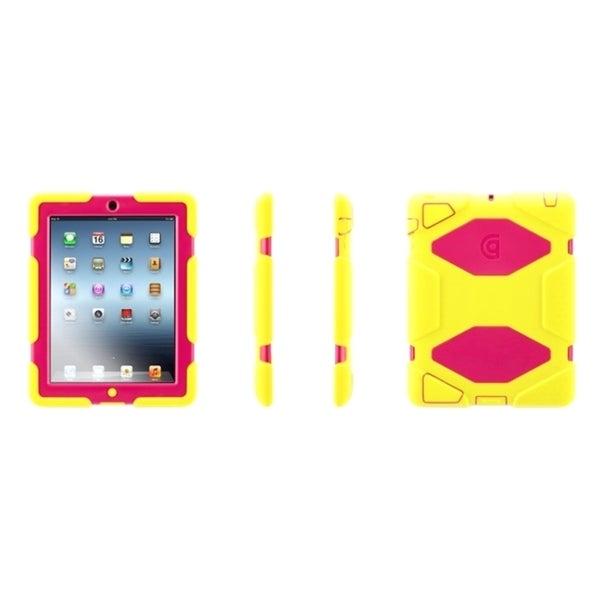 Griffin Survivor Carrying Case for iPad - Blaze Orange, Olive